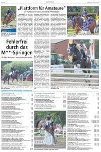 Turnier Brockhöfe / Ankündigung Turnier Suhlendorf