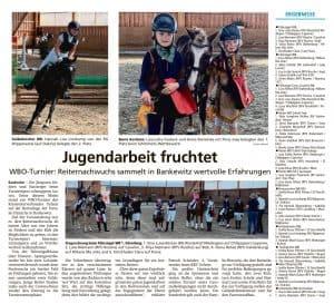 WBO Turnier - Kreisreiterverband Uelzen e.V. 22. - 23. August 2020